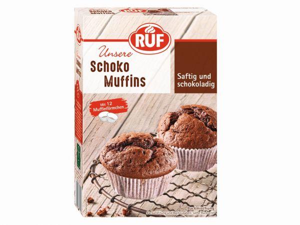 RUF Muffins Schoko 300g