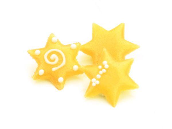 Dekoraufleger Sterne 100 Stück