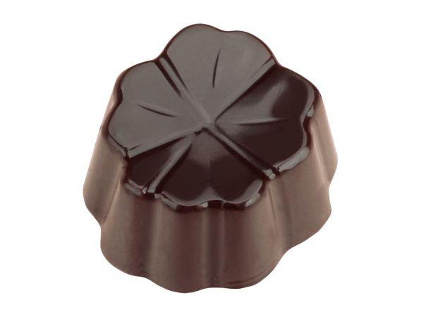 Schokoladenform Kleeblatt