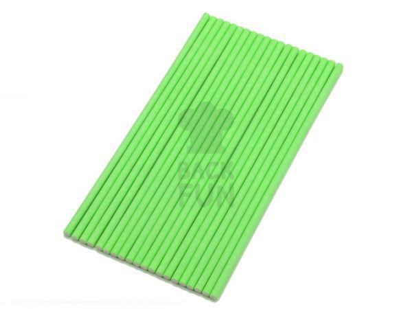 Stiele für Lollis 20 Stück 15cm grün