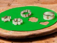 Ausgerollte Rollfondant-Decke Frühlinggrün Durchmesser 36cm 430g