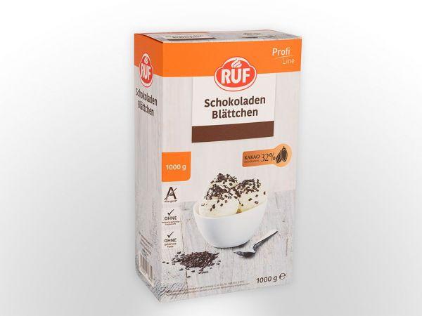 RUF Schokoblättchen 1,0kg