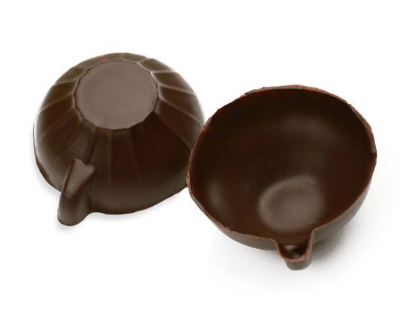 Schokoladenform Tasse groß