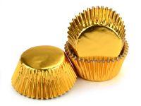 Muffinkapseln 50mm Alu gold 60 Stück