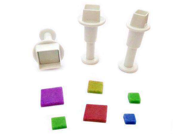 Stempelausstecher mini Quadrate