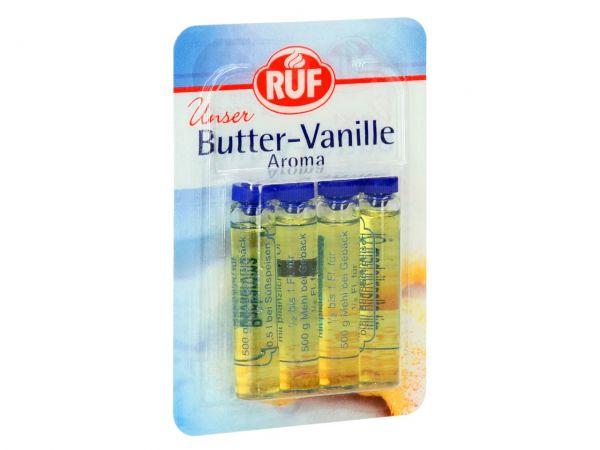 RUF Butter-Vanille Aroma 4er Pack 4x2ml