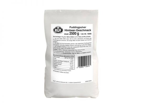 RUF PP Himbeer 2,5kg Beutel