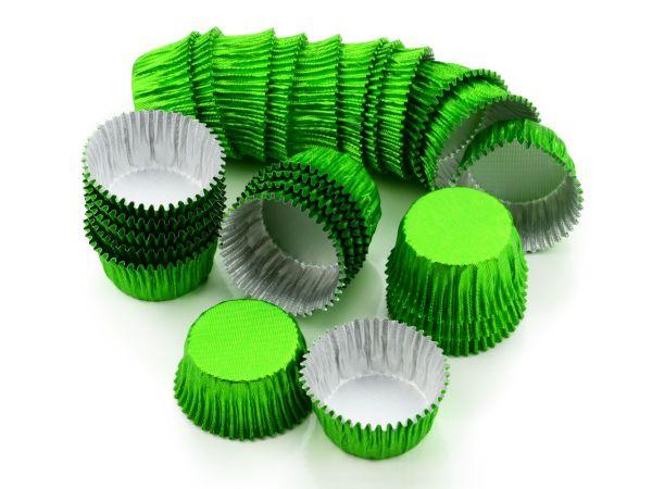 Alu-Kapseln 24mm grün 25 Stück
