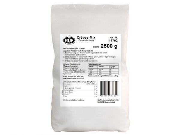 RUF Crêpes-Mix Grundmischung 2,5kg