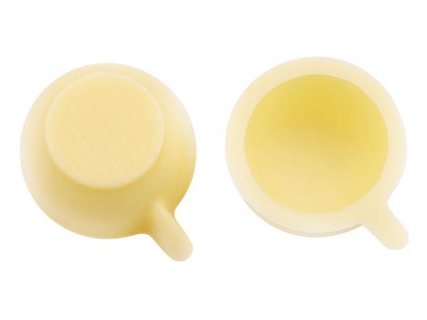 1 Folie Tassen-Schalen Weiß
