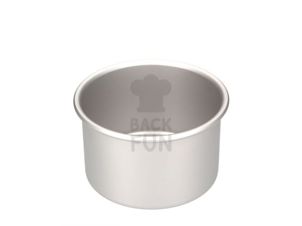 Backform rund, tief, für Torten 17,5x10cm