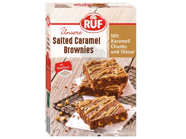 RUF Salted Caramel Brownies 455g