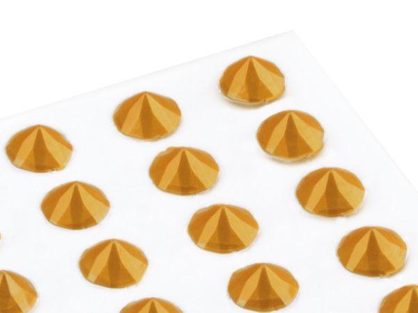 Essbare Diamanten aus Gelee gold 20 Stück