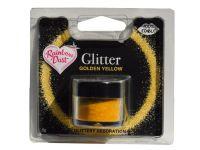 Glitzerpulver essbar golden yellow 5g