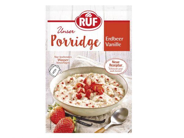 RUF Porridge Erdbeer Vanille 65g