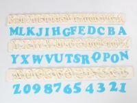 FMM Ausstecher Großbuchstaben Art Deco