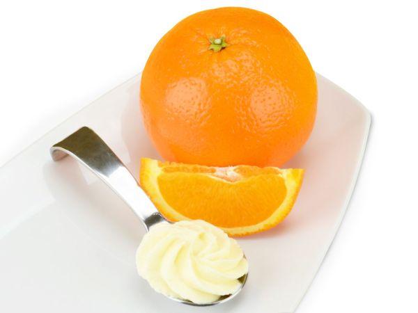 Sahnestand Orangen 100g