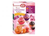RUF Flashy Food Colours 4er Pack 4x20g