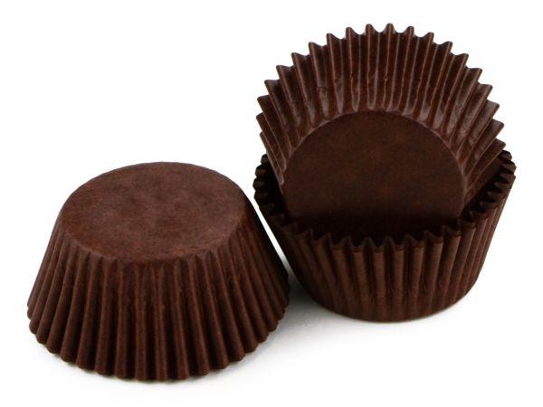 Muffinkapseln 50mm braun 60 Stück