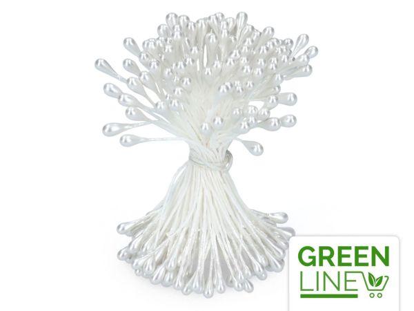 Staubblüten weiß 120 Stück GREENLINE