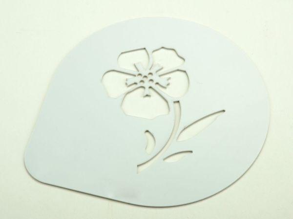 Schablone Veilchen 15cm