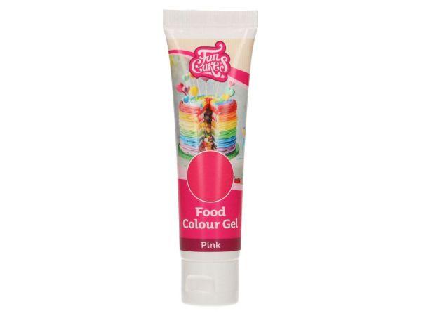 FunCakes Gelfarbe Pink 30g