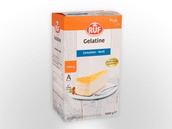 RUF Gelatine weiß gem. 1,0kg