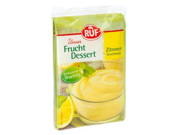 Ruf Frucht Dessert Zitrone 3er Pack 3x44g Backfun