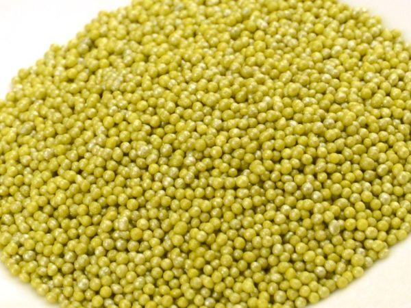 Mini-Perlen olive-glimmer 1,0kg