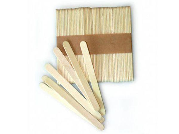 Eisstiele aus Holz 11,5cm 50 Stück