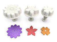 Stempelausstecher Blüten Mix