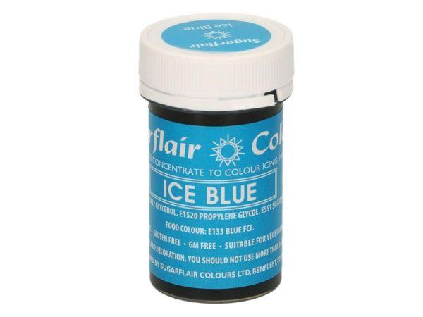 Sugarflair Pastenfarbe Eisblau 25g