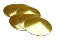 Golden Plate 25cm gold glänzend 6 Stück