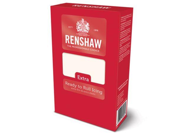 Renshaw Rollfondant Extra weiß 1kg