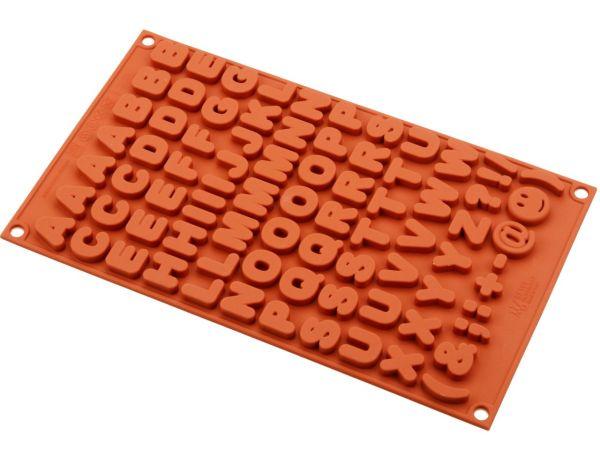 Silikonform klein Buchstaben