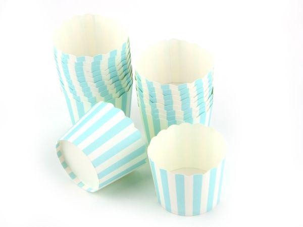 Cupcake Cup blau 20 Stück