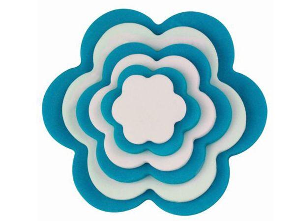 PME Ausstecher Blumen, Kunststoff 6er Set
