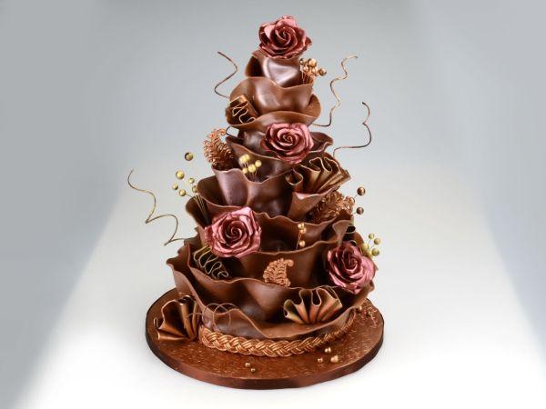 Modellier-Schokolade Rosa-Haut 600g