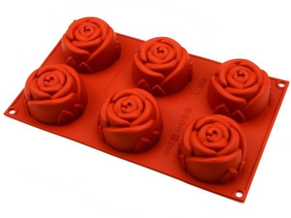 Silikonform Mini Rose