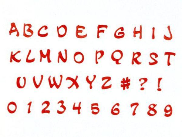 FMM Ausstecher Großbuchstaben Magical Großbuchstaben
