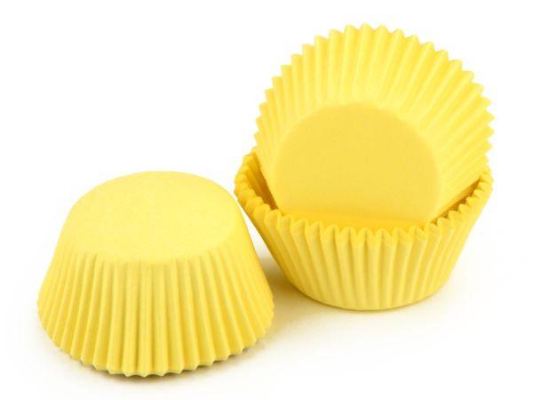 Muffinkapseln 50mm pastellgelb 60 Stück