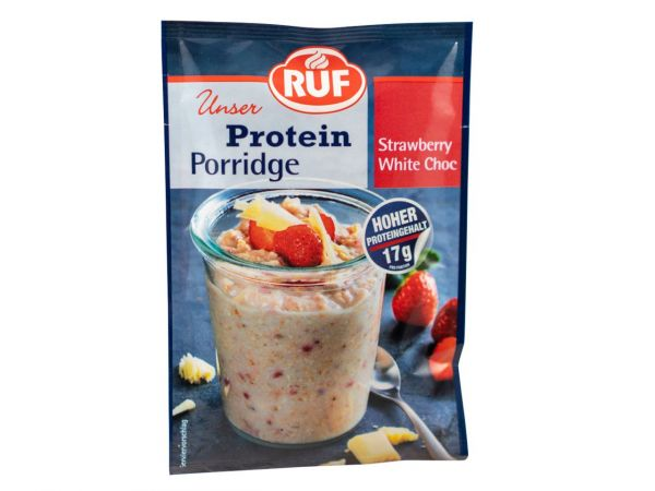 RUF Protein Porridge Strawberry White Chocolate 70g