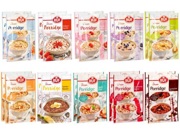 Porridge-Probierpaket 1,3kg