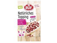 RUF Natürliches Topping - Himbeeren, Kirschen und Reiscrisps 15g