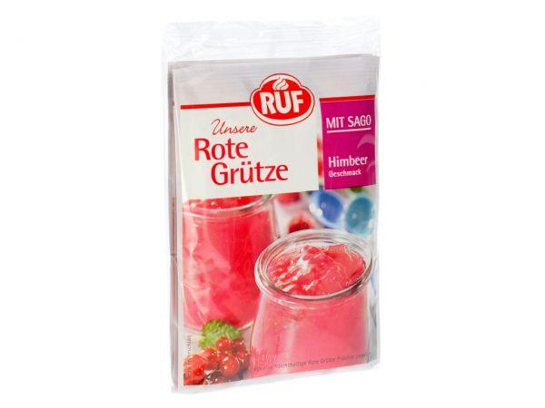 RUF Rote Grütze Himbeer mit Sago 3er Pack 3x43g
