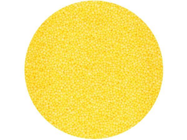 FunCakes Miniperlen Gelb 80g
