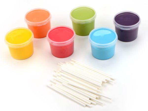 Cake-Pop Set Rainbow