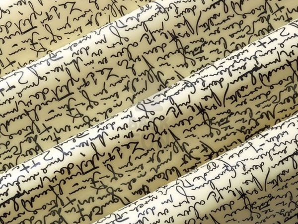 Transferfolie Lettres
