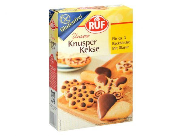 RUF Knusper Kekse glutenfrei 475g