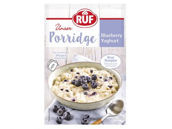 RUF Porridge Blueberry-Joghurt 65g